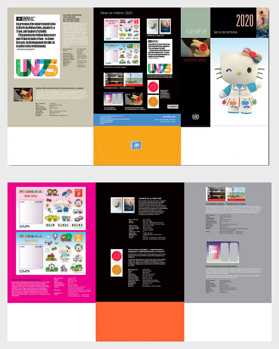 Collection Annuelle 2020 - (Genève) - Années Complètes