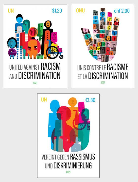 (3 Bureaux) Unis Contre Le Racisme Et La Discrimination - Séries CTO