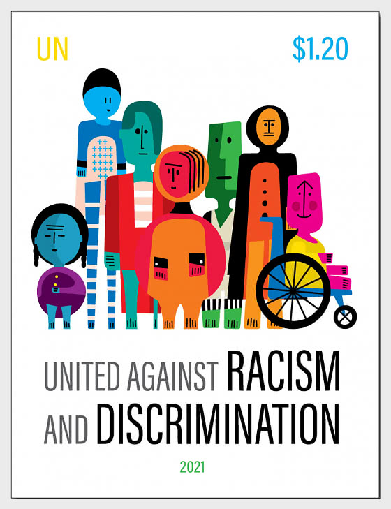 (New York) United Against Racism and Discrimination - Mint - Set