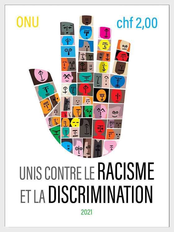 (Geneva) United Against Racism and Discrimination - Mint - Set