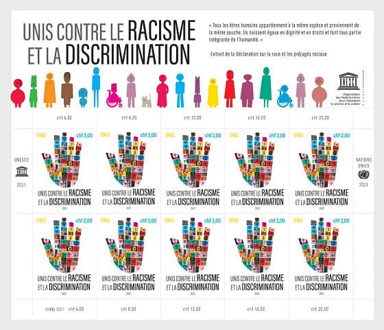(Ginevra) Uniti Contro Il Razzismo E La Discriminazione - Minifogli CTO