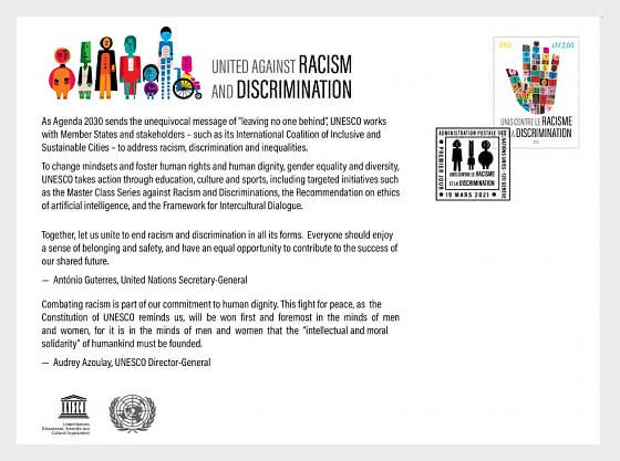 (Ginevra) Uniti Contro Il Razzismo E La Discriminazione - Collezionabile CTO