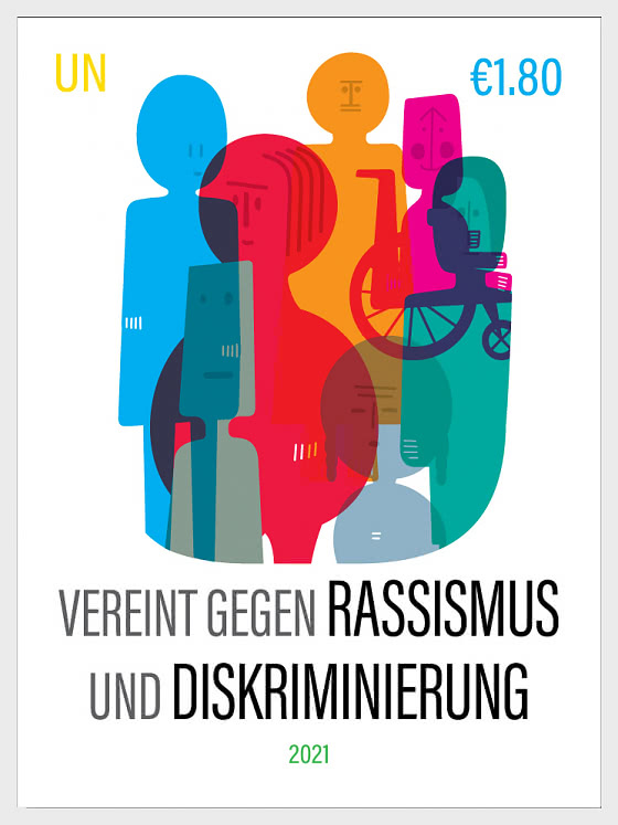 (Vienna) United Against Racism and Discrimination - Mint - Set