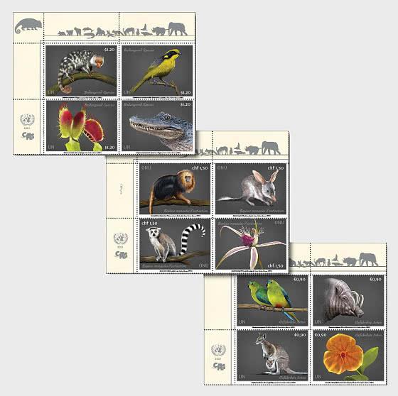 Specie Minacciate Di Estinzione 2021 (3 Uffici) - Serie