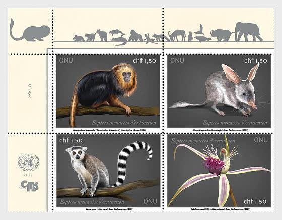 (Ginevra) Endangered Species 2021 - Serie