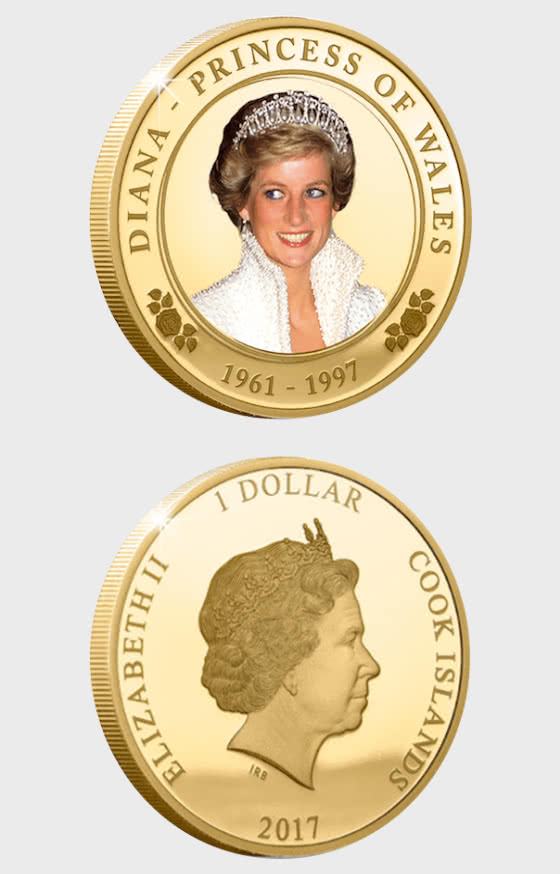 Princess Diana 20th Anniversary Proof Coin - Single Coin