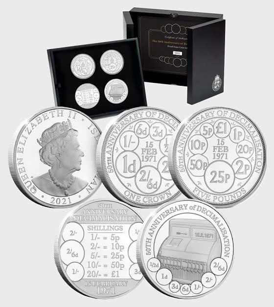 The Decimalisation Proof Coin Set - Commemorative